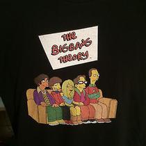 Big Bang Theory / Simpsons Tv Collaboration Shirt Rare  Size Large  Photo