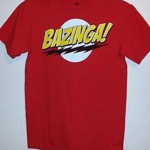 Big Bang Theory Tv Show Bazinga Shirt Men's Size S Photo