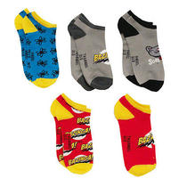 Big Bang Theory Tv Show Ripple Junction Ankle Socks 5 Pair Pack Photo