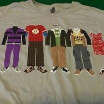 Big Bang Theory Tv Show Shirt Mens L Photo