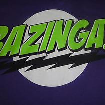 Big Bang Theory Tv Show T-Shirt Tee Ladies Women Bazinga Sheldon Cooper Sz L Photo