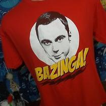 Big Bang Theory Tv Show Vintage Red T-Shirt L Photo