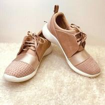 Big Buddha Womens Sneakers Memory Foam Blush Pink Athleisure Lace 6 Photo