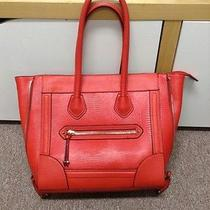 Big Red Trendy Tote Aldo Photo