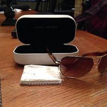 Big Sale Nib Marc Jacobs Aviator Style High End Sunglasses With Dust Cloth Photo