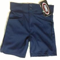 Bike Coach Shorts  Navy Blue S Small Softball Baseball Football Coaching Coaches Photo