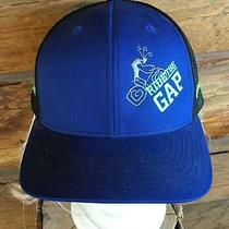 Bike Ride the Gap Spin Geeks Parowan Utah Blue & Black Mesh Baseball Cap Hat  Photo