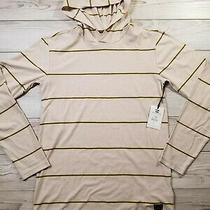 Billa Bong Light Weight Hoodie Mens Sz S Striped Die Cut Po Photo