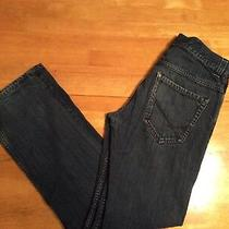 Billabong Amplified Blue Cotton Denim Jeans Narrow Straight Leg Pockets Size 30 Photo