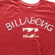 Billabong Art Red L Large T Shirt  Photo