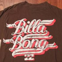 Billabong Australia Skate Surf Skating Surfing Medium Brown T-Shirt Photo