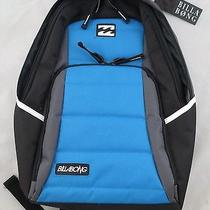 Billabong Backpack Book Bag Black Blue Photo