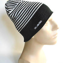 Billabong Beanie Winter Hat Black & White  Photo