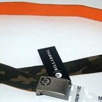 Billabong Belt New Mens Sprocket Be Camo Orange Canvas Surf Logo Adjustlogo Surf Photo