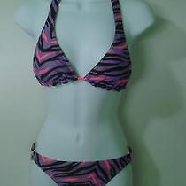 Billabong Bikini W/reversible Top  Size Medium Photo