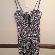 Billabong Black and White Dress Removable Straps Photo