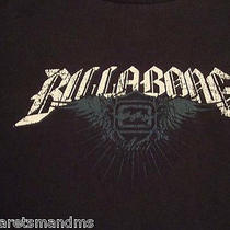 Billabong Black Graphic Size Xl T-Shirt  Photo