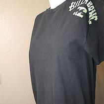 Billabong Black  Graphic Tee Sz M Photo