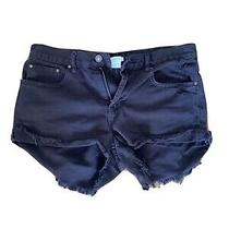Billabong Black Jean Shorts 29 Photo
