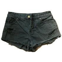 Billabong Black Jean Shorts Size 26 Photo