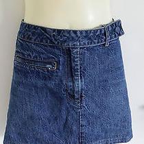 Billabong Blue  Denim Skirt Photo