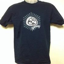 Billabong Blue T-Shirt Size Medium. Free Shipping Photo