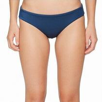 Billabong Blue Women's Size Medium M Textured Side Bikini Bottom 44 245 Photo