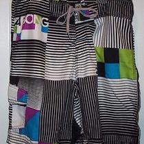 Billabong Board Shorts Mens   Size 32  Bright Multi Color Excellent Photo