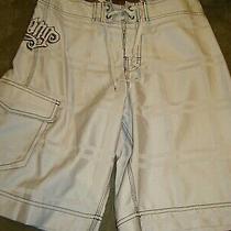 Billabong Board Shorts Sz 30 Dove Gray  Photo