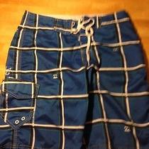 Billabong Boardshorts 30 Blue Retro Swim Photo