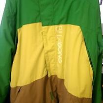 Billabong Bolt Mens Snowboard/ski Jacket Green Size L Photo
