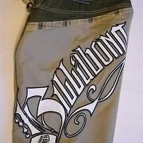 Billabong Brian Grubb Signature Board Shorts Celery Green Size 30  Retail 54.50 Photo