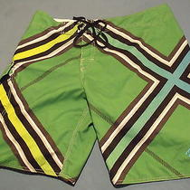Billabong Brian Grubb Wake Series Board Shorts / Trunks Sz 38 Euc Photo