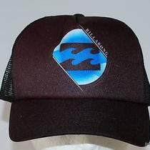 Billabong Cap New Mens Torpedo Trucker Black Blue Surf 1 Size Surf Logo Mesh Photo