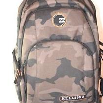 Billabong Convey Camouflage Backpack Skateboard Snowboard Surf Photo