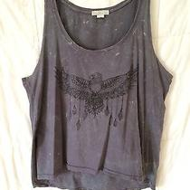Billabong Designer's Closet Marble-Wash Eagle Tank Photo