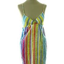 Billabong Dress Sz S Small Multi Color Women's Cotton Long Strap Photo