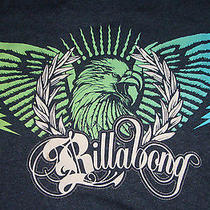 Billabong Eagle T Shirt Sz S Guc Photo