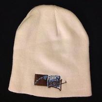 Billabong Emblem Hat White Blue & Brown Logo Beanie Cap Photo