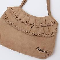 Billabong Genuine Suede Leather Like Handbag Purse Scallop Photo