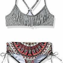 Billabong Girl's Swimwear Black Size 5 Boho Babe Tali Bikini Set 54 619 Photo