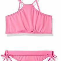Billabong Girl's Swimwear Pink Size 7 Bikini Set Side-Tied Lace-Up 49 925 Photo