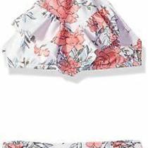 Billabong Girl's Swimwear White Size 14 Bikini Set Floral Printed 44 254 Photo