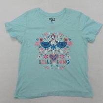 Billabong Girls Medium My Heart Belongs to the Sea Aqua T-Shirt Photo