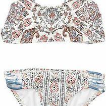 Billabong Girls Swimwear Blue Size 14 Lil Bliss Bikini Tankini Set 49 388 Photo