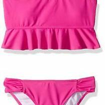 Billabong Girls' Swimwear Pink Size 12 Sol Searcher Flutter Bikini Set 49 896 Photo