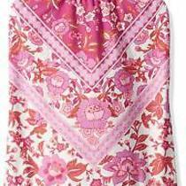 Billabong Girls Swimwear Pink Size 4 Take a Trip Floral Tie Swimsuit 55 645 Photo