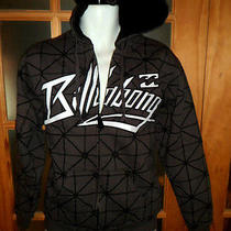 Billabong Graphic Sherpa Lined Hoodie Sz S Photo