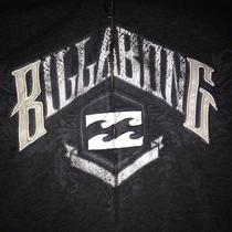 Billabong Gray Hoodie Size Large Photo