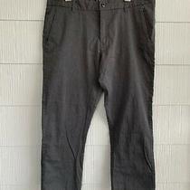Billabong Gray Men's Dress Pants - Size 38 Photo